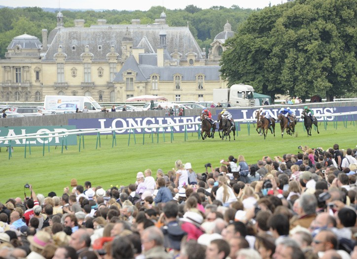 The Hippodrome in Chantilly.