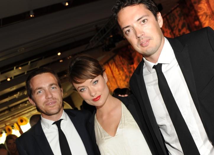 David Neville, Olivia Wilde and Marcus Wainwright.