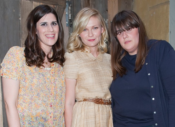 Laura and Kate Mulleavy with Kirsten Dunst.