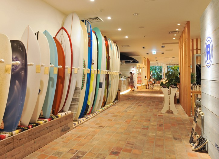 The Ron Herman store in Tokyo