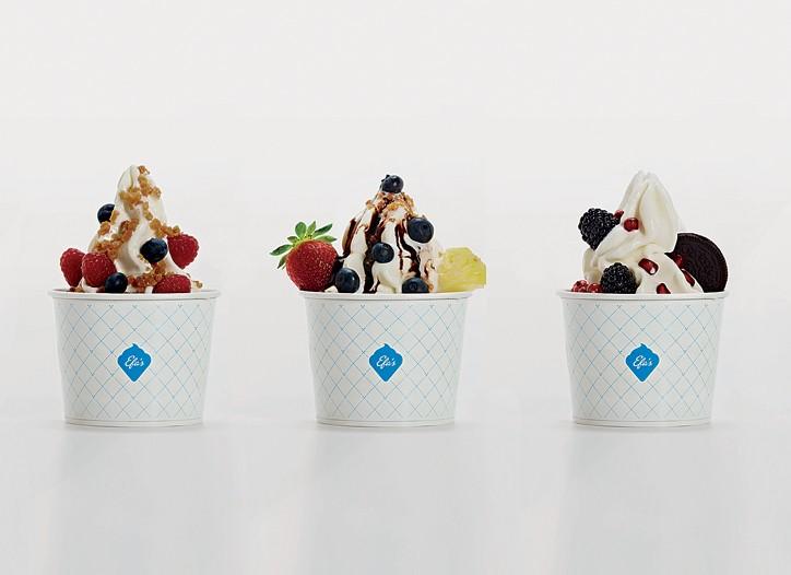 Efa's frozen yogurt.