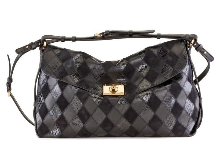 A Sergio Rossi handbag.