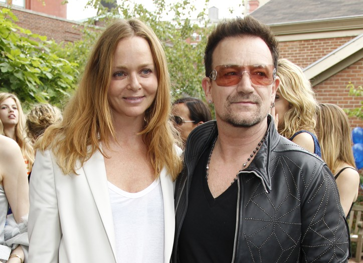 Stella McCartney and Bono