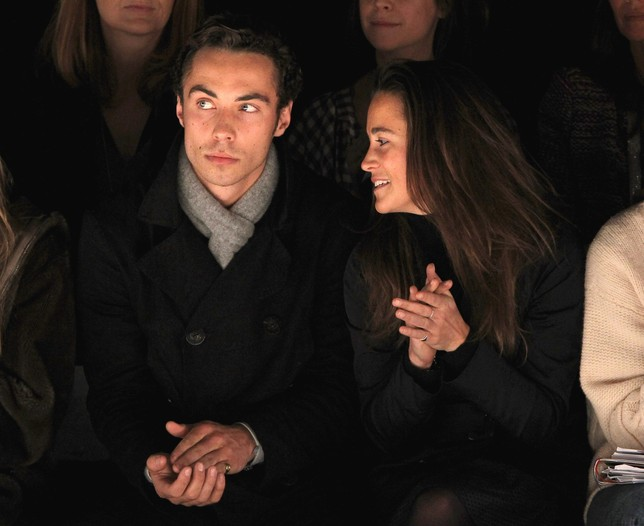 James Middleton and sister Pippa.