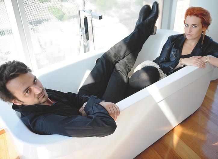 David Jarre and Ara Starck of The Two.