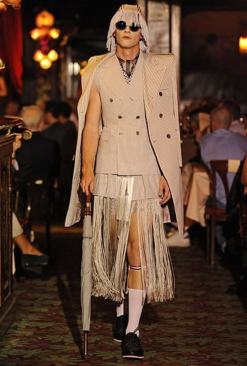 Thom Browne Men's RTW Spring 2012