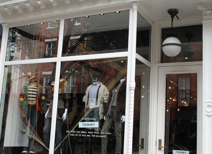 The Tommy store on Bleecker Street in New York will revert to a Tommy Hilfiger store.