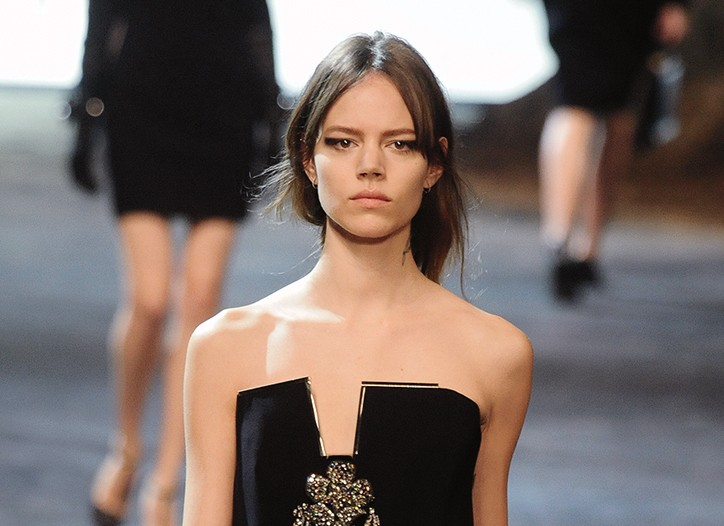 A look from Lanvin.