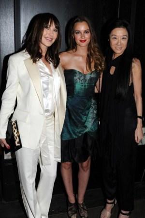 Tamara Mellon, Leighton Meester and Vera Wang