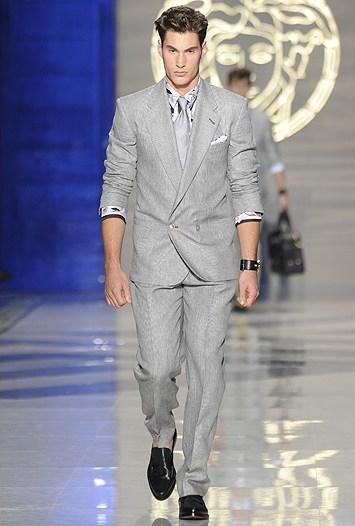 Versace Men's RTW Spring 2012