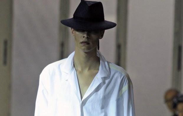 Yohji Yamamoto Men's RTW Spring 2012