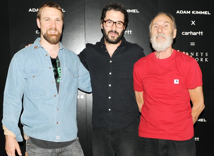 Dan Attoe, Adam Kimmel and George Herms