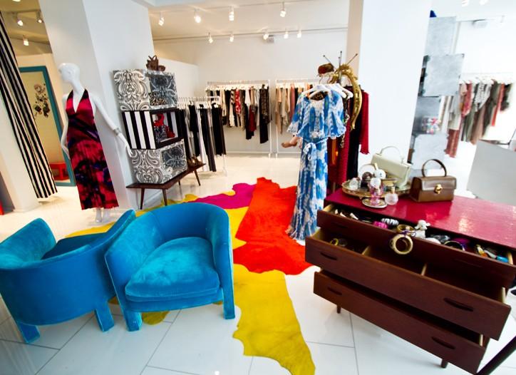 Alice + Olivia's Madison Avenue store.
