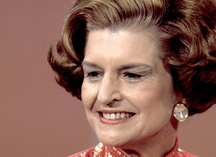 Betty Ford in 1976