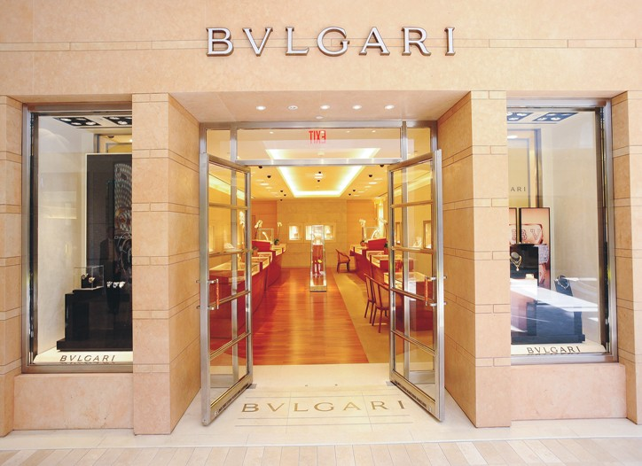 Bulgari cited lower watch sales, while jewelry improved in the quarter.