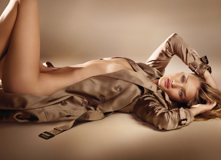 The Burberry Skin advertising image.