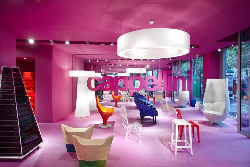 Furniture from Cappellini.
