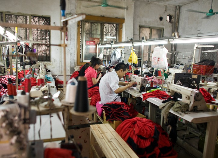 Guangdong province factory.