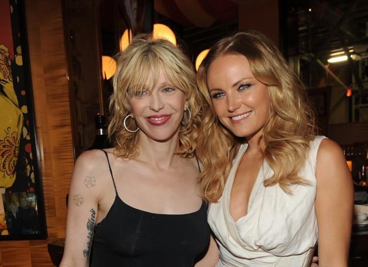 Courtney Love and Malin Akerman