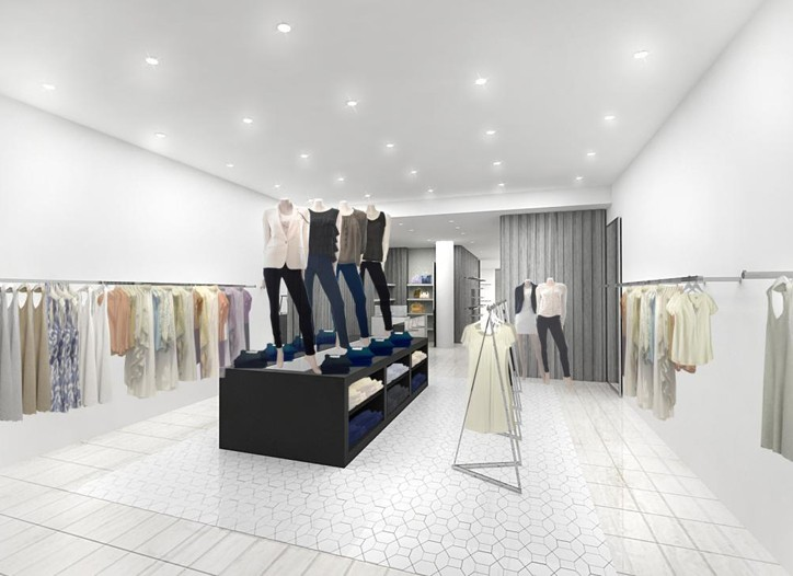 A rendering of Denim Habit, opening in the Meatpacking District.