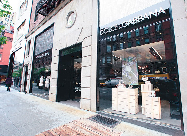 Dolce & Gabbana on Madison Avenue.