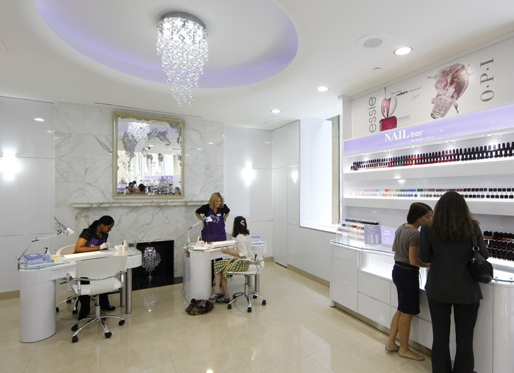 The Nail Bar by Essie-OPI at Duane Reade.