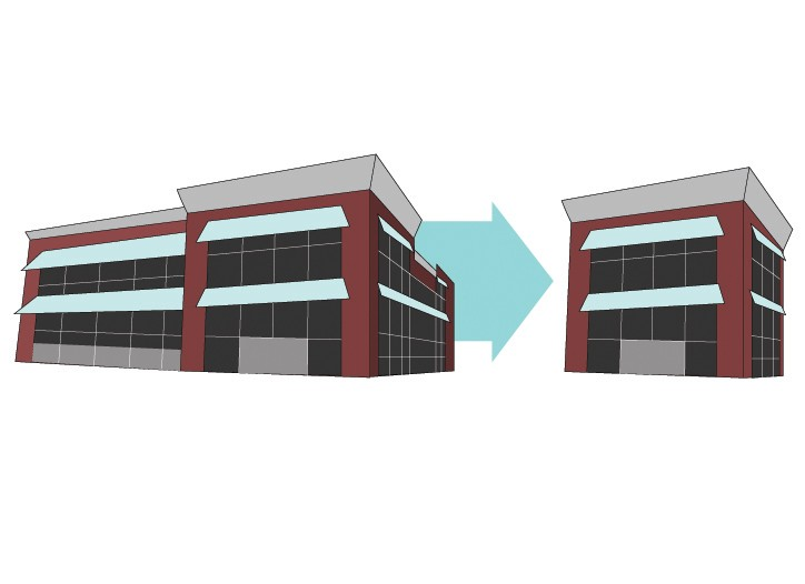 Smaller stores are easier to situate in urban areas than the standard big boxes.