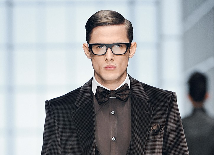 A fall look from Hugo Boss.