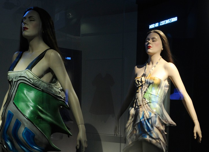 A view of the Hussein Chalayan exhibition.