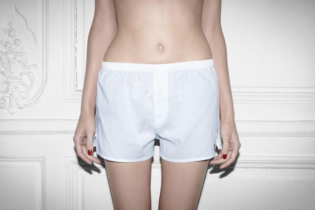 Unisex boxer shorts from Yasmine Eslami.