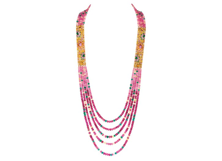 Boucheron's Isola Bella necklace.