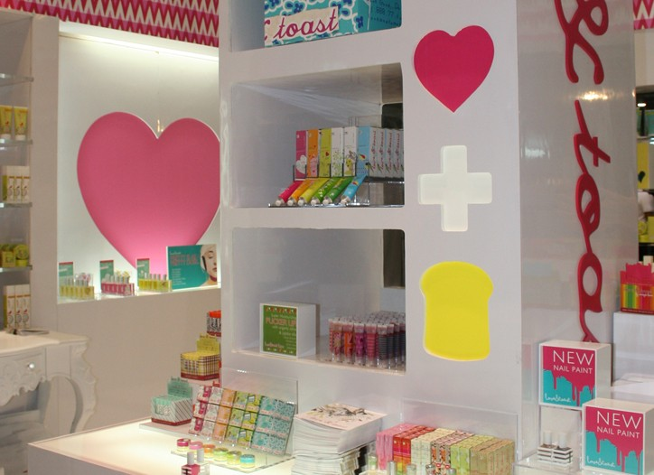 The Love + Toast display at NACDS Marketplace.