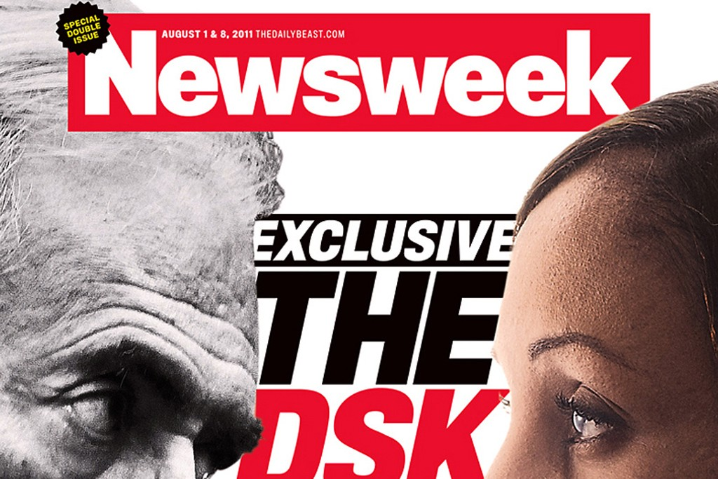 The cover of Newsweek.