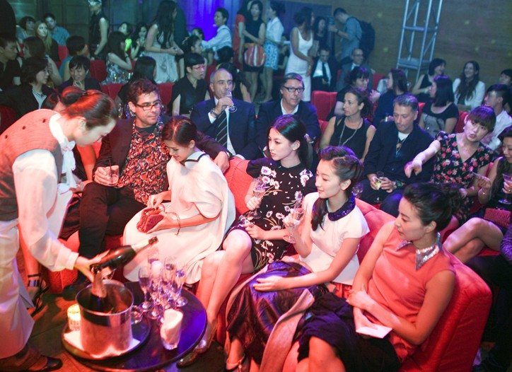 The Miu Miu event in Shanghai