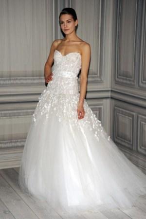 Monique Lhuillier Bridal Spring 2012