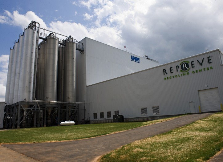 Unifi's new Repreve recycling center.