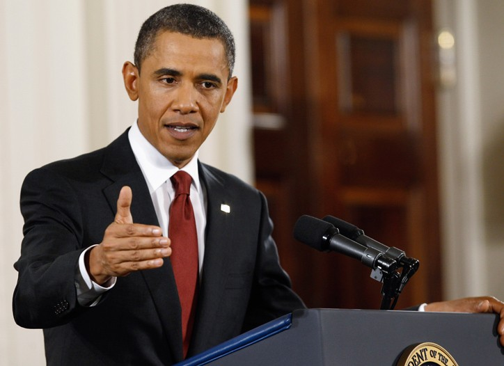 President Obama at the White House on Wednesday.