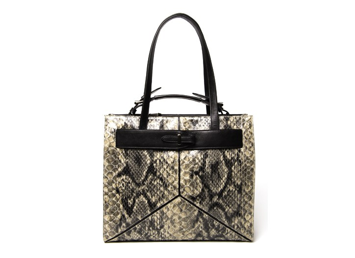 The Marlow snakeskin bag.