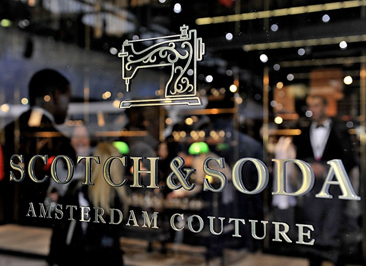 A Scotch & Soda boutique in Amsterdam.