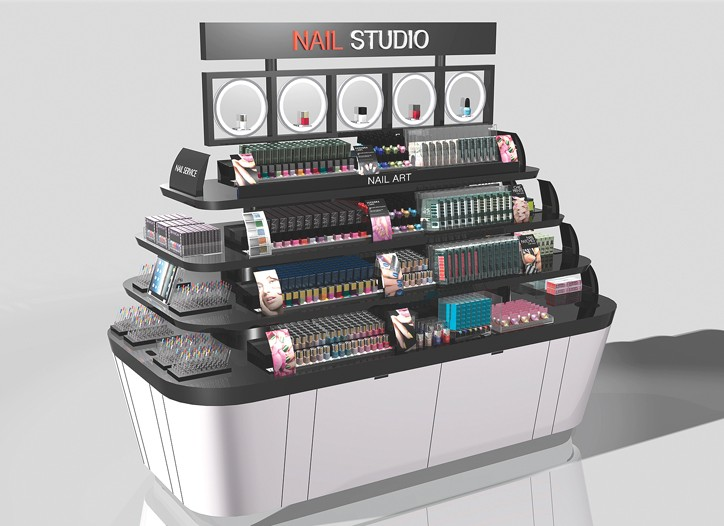 Sephora's new nail studio.