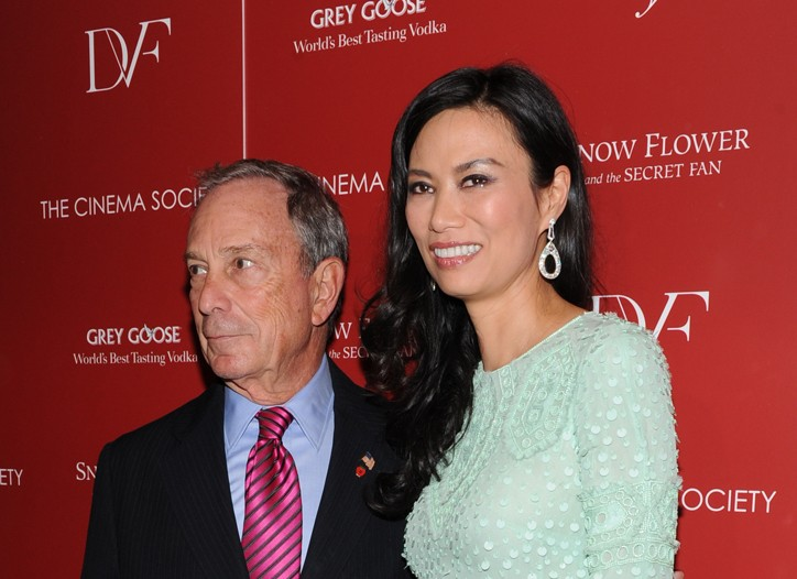Mayor Michael Bloomberg and Wendi Murdoch