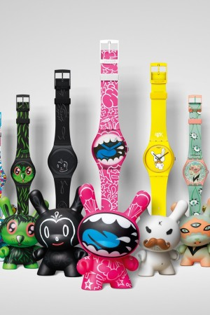 The Kidrobot for Swatch collection