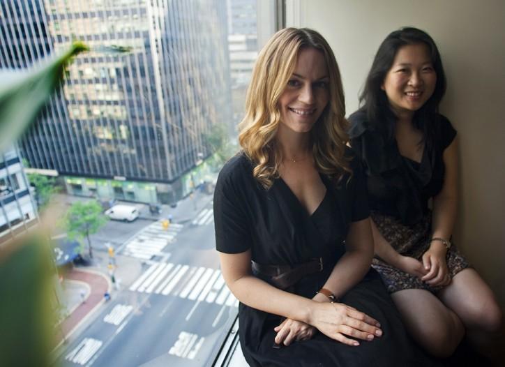 Meggan Crum and Mandy Tang