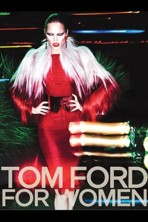 A visual from Tom Ford's fall campaign.