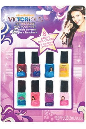 The Hit the Stage Nail Polish Set from the Victorious line.