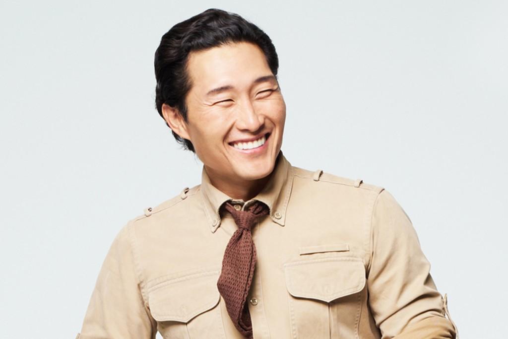 Daniel Dae-Kim in  T by Alexander Wang x Dockers.