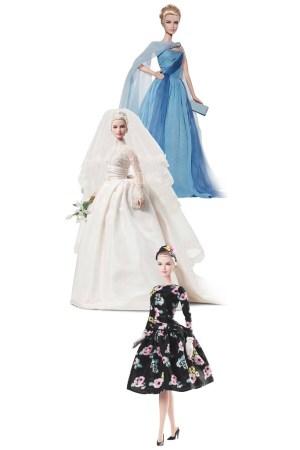 Mattel's Princess Grace-inspired Barbies.