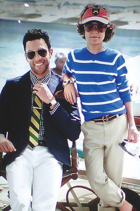 An ad for the Tommy Hilfiger line produced by Fishman & Tobin which was acquired by LF USA earlier this month.