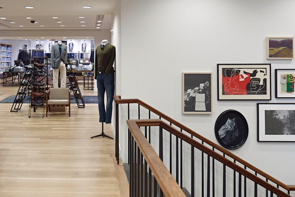 J.Crew's Rockefeller Center store.