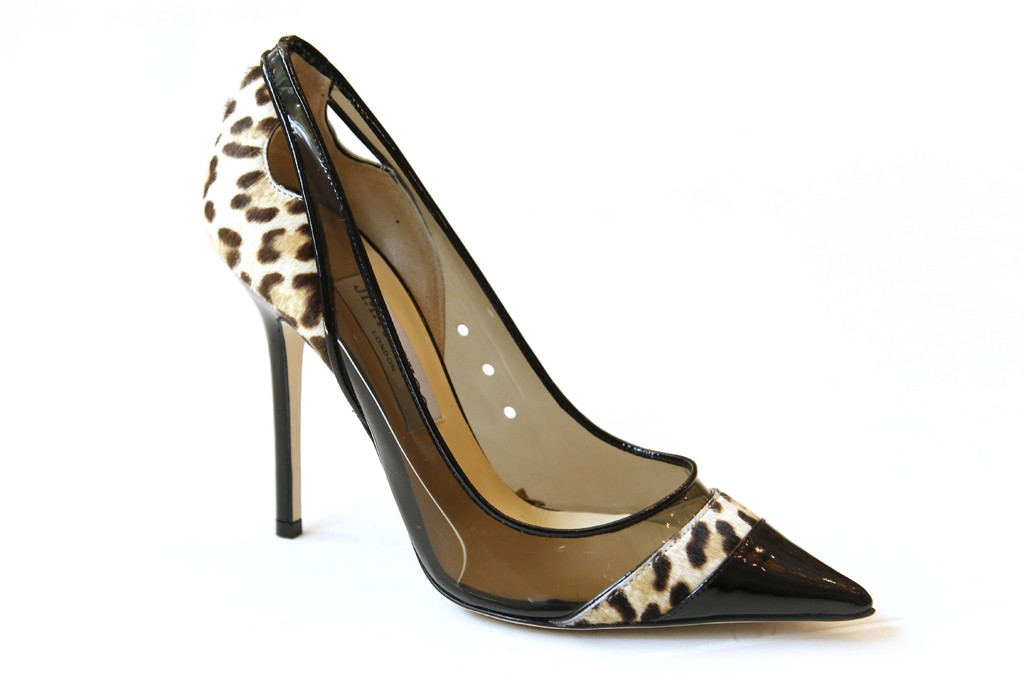 A Jimmy Choo pump.